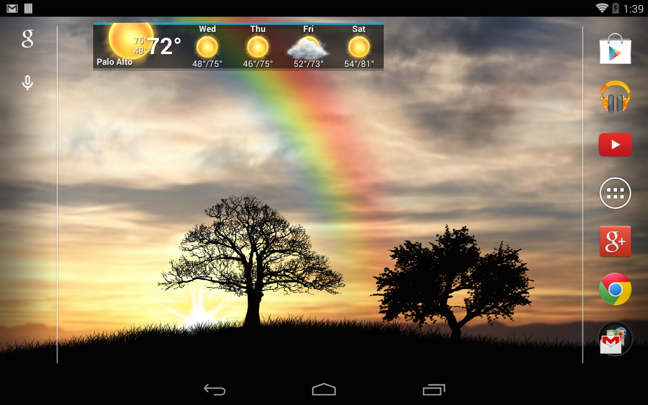 Sun Rise Pro Live Wallpaper Screenshot 6