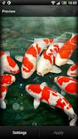 Screenshot of Koi Fish Live Wallpaper Free