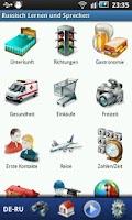 Screenshot of Russisch Lernen &  Sprechen