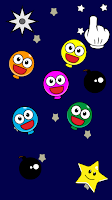 Screenshot of Pop Smiley Balloons