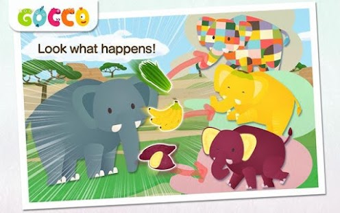 Gocco Zoo - Paint & Play - screenshot