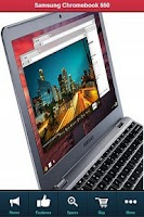 Screenshot of Samsung Chromebook 550 REVIEW