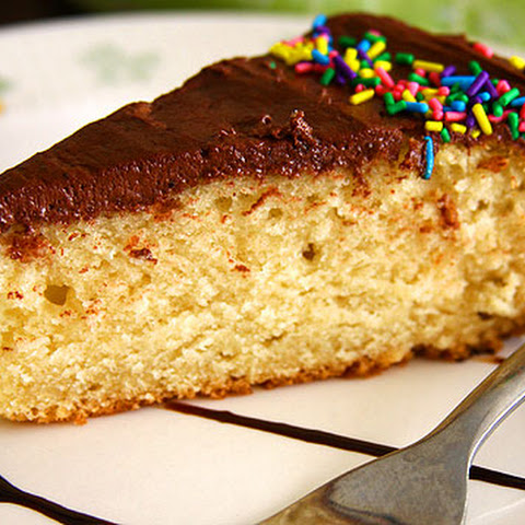 Eggless Yellow Cake