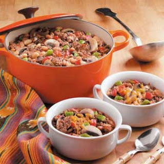 Zippy Three-Bean Chili