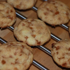 Toffee Studded Snickerdoodles
