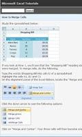 Screenshot of Excel Tutorials - Free
