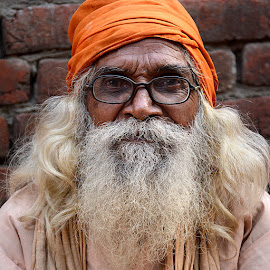Mouni Baba by Rakesh Syal - People Portraits of Men (  )