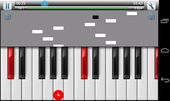 Screenshot of Piano Instructor