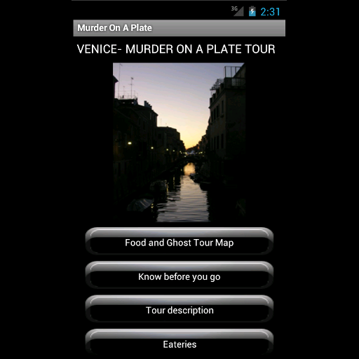 旅遊必備App Food & Ghost Tour Venice LOGO-綠色工廠好玩App