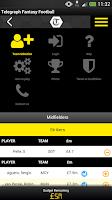 Screenshot of Fantasy Football