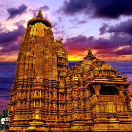Kandariya Mahadev Temple, Khajuraho, MP, India by Sudipto Bhaumik - Buildings & Architecture Public & Historical