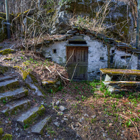 Storage of memories by Nicola Ibba - Buildings & Architecture Decaying & Abandoned ( svizzera, ticino, grotti, 2015, cevio, grotto )