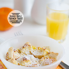 Orange-Maple French Toast Casseroles