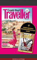 Screenshot of Condé Nast Traveller India