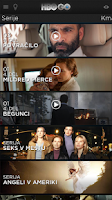 Screenshot of HBO GO Slovenia