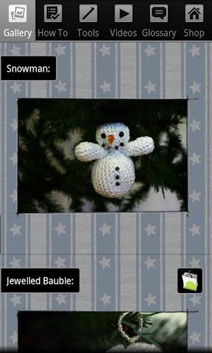 Christmas Crochet Snowman