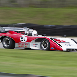 Lola T-222 by Chuck Brandt - Transportation Automobiles ( lola t-222 can am sports racing car )