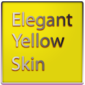 Elegant Yellow Keyboard Skin icon