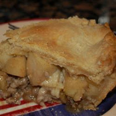 Amy's Sausage Apple Pie