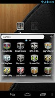 Screenshot of Silver Cube Theme 4 GoLauncher