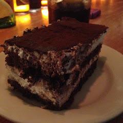 Chocolate tiramisu. Amazing.