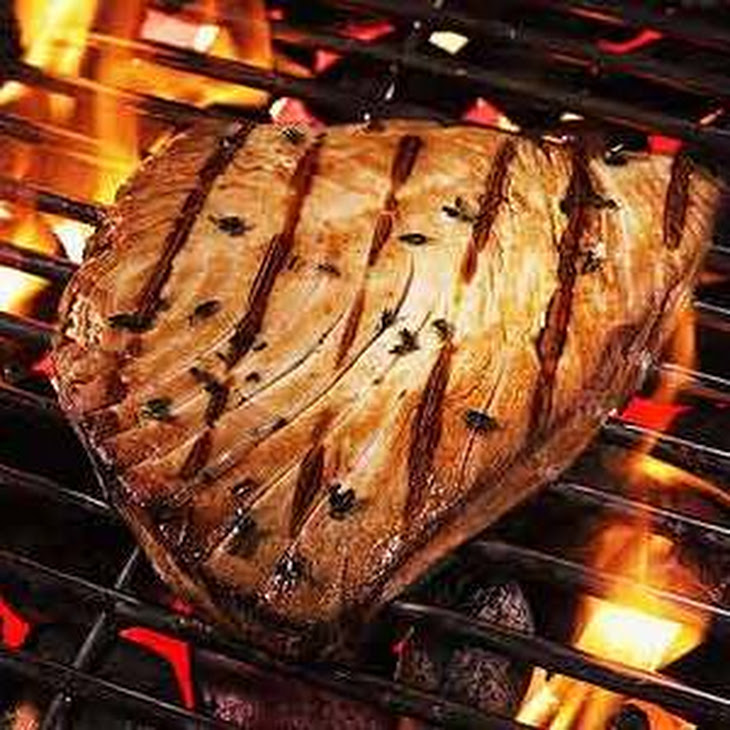 Grilled Marinated Tuna Steak Recipe | Yummly