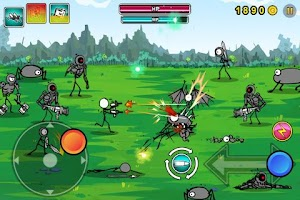 Screenshot of Cartoon Wars: Gunner+