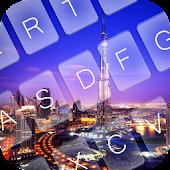 Free Dubai Night Keyboard Theme APK for Windows 8