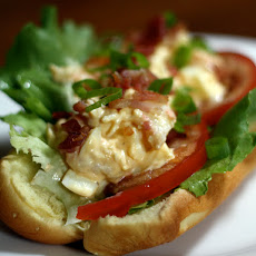 Dinner Tonight: Shrimp and Deviled-Egg Salad Rolls
