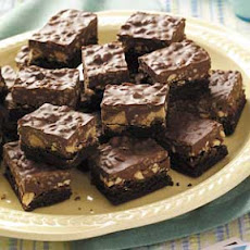Peanut Butter Brownie Bars Recipe