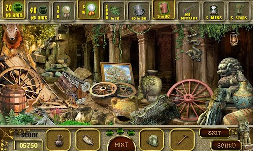 Mystery Temple - Hidden Object - screenshot