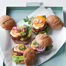 Bean-and-Veggie Sliders
