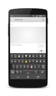 TypeDroid Pro with Keyboard - screenshot