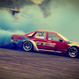 Blue Smoke by Fauzan D. Kurnia - Sports & Fitness Motorsports
