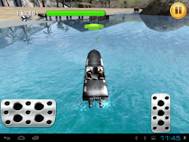 Screenshot of Motor Boat Parking 3D TAB