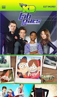 Screenshot of WATCH Disney XD