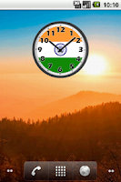 Screenshot of India Clock