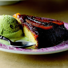 Cook the Book: Mango Upside-Down Cake with Basil Ice Cream