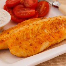 World's Easiest Roasted Tilapia