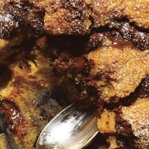Dulce de Leche and Chocolate Chunk Bread Pudding Recept | Yummly