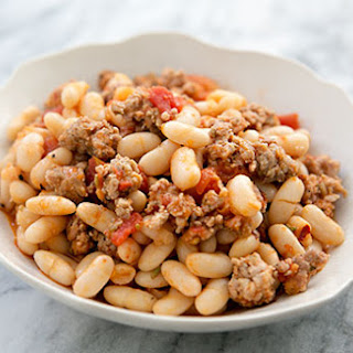 White Beans and Sausage