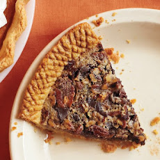 Sorghum-Sweetened Chocolate Pecan Pie