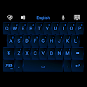 GO Keyboard Neon Blue Theme icon