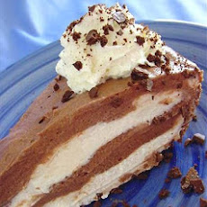 Nutella Black & White Cheesecake