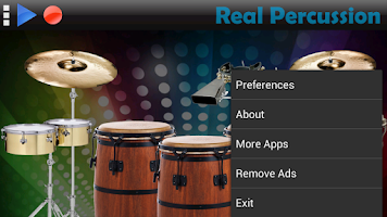 Screenshot of Real Percussion
