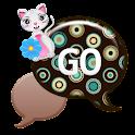 GO SMS - Retro Miss Priss icon