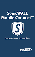 Screenshot of SonicWALL Mobile Connect
