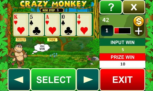 Game Crazy Monkey slot machine APK for Kindle