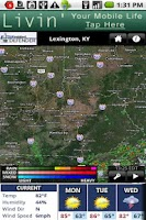 Screenshot of WKYT Radar