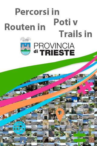Trails Province of Trieste
